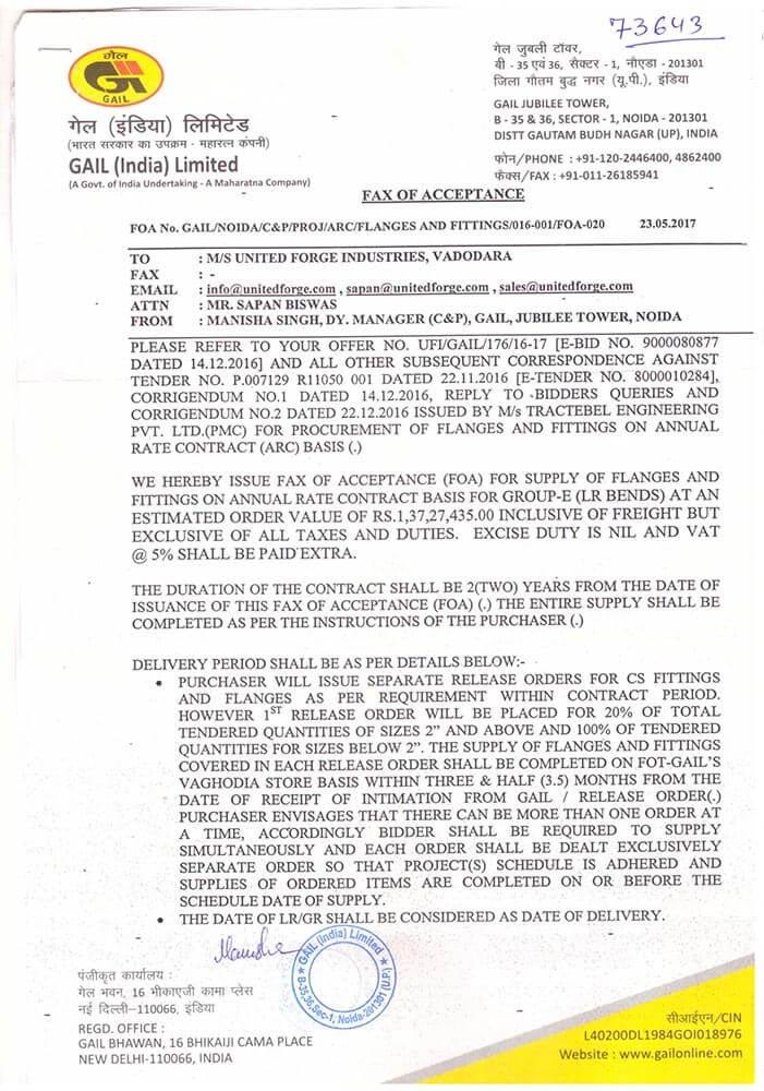 united-fordge-gail-certificate